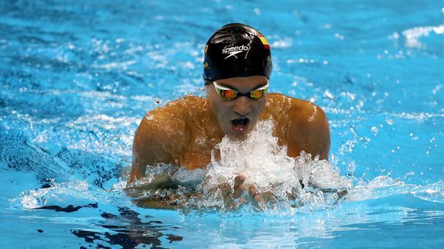 Campeonatos Europeos: Pons suma la segunda medalla para España con un bronce en 400 estilos