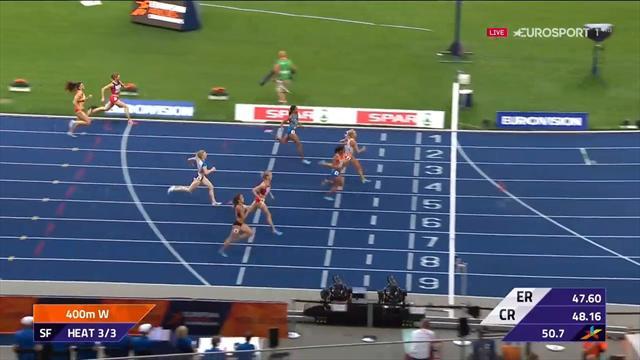 Twee Nederlandse vrouwen in finale 400m