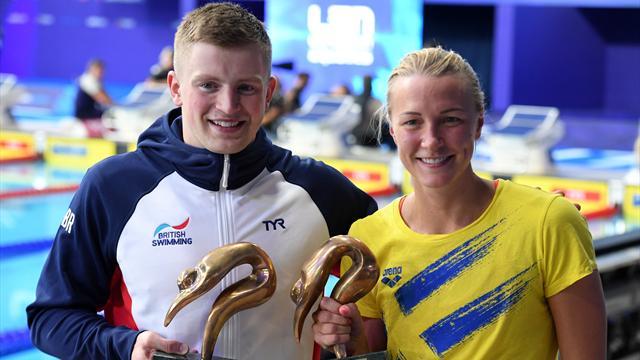 Sjoestroem, Peaty and Efimova end Euros with fourth golds