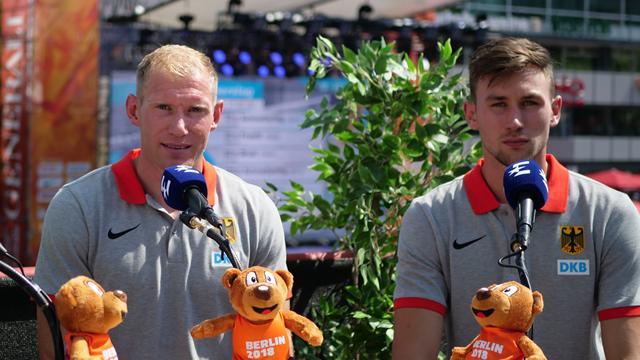 """""""Marshmallows knallen richtig rein"""": EM-Vodcast mit Europameister Abele und Kaul"""