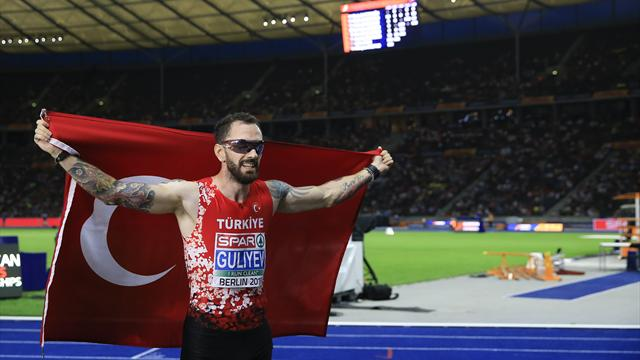 Guliyev'den şampiyona rekoru ile gelen altın madalya