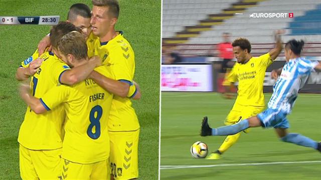 Highlights: Suveræne Brøndby sejrede mod Subotica
