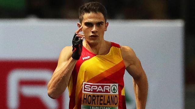 Bruno Hortelano, baja en los próximos Mundiales de atletismo de Doha