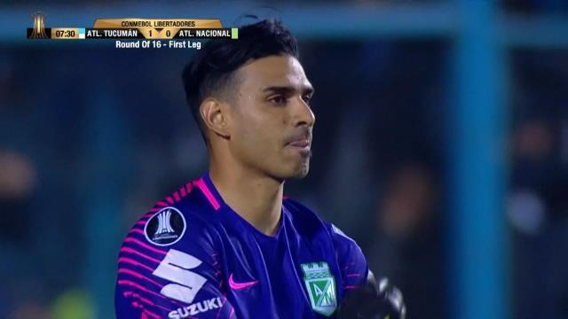 Libertadores - Le 'Lloris Argentin' fait chuter l'Atletico Nacional