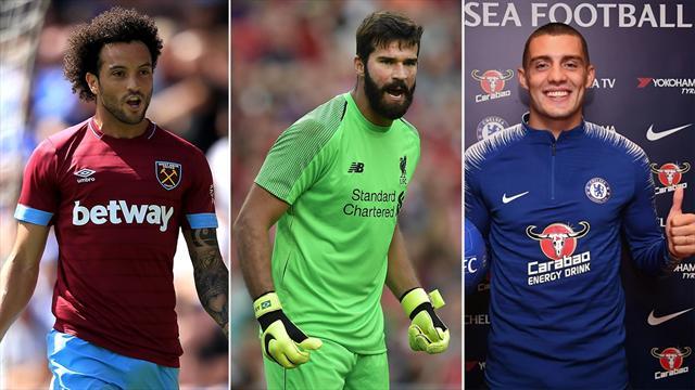 Alisson, Kovacic e gli altri: i 15 volti nuovi della Premier League
