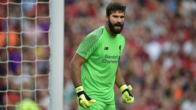 Alisson and Keita start for Liverpool - as West Ham play five debutants