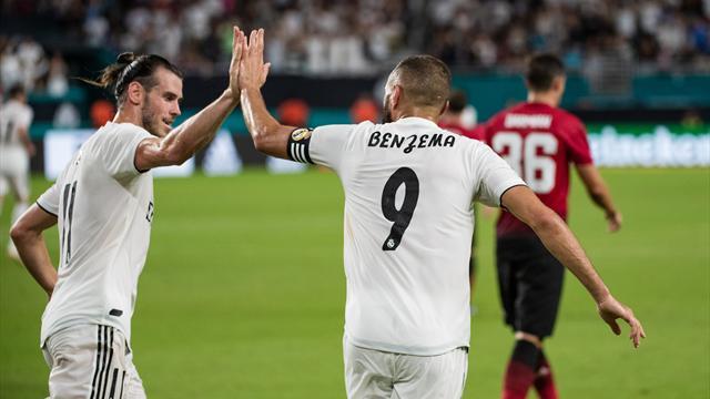 Le Real Madrid s'offre le Milan et le Trophée Bernabeu, Benzema buteur