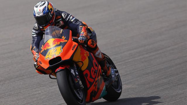 Espargaró auf seinem neuen Bike