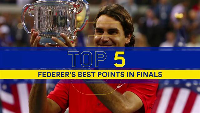 Top 5: i colpi più belli di Federer nelle sue finali agli US Open