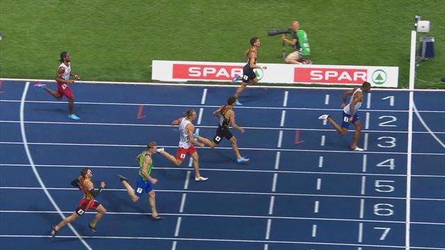 Hudson-Smith campione dei 400 piani, sul podio i gemelli Borlée