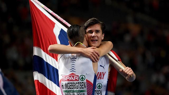 A 17 ans et 324 jours, Ingebrigtsen est devenu le plus jeune champion d'Europe de l'histoire