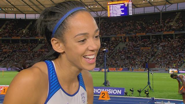 'I'm very happy' - Johnson-Thompson after heptathlon silver