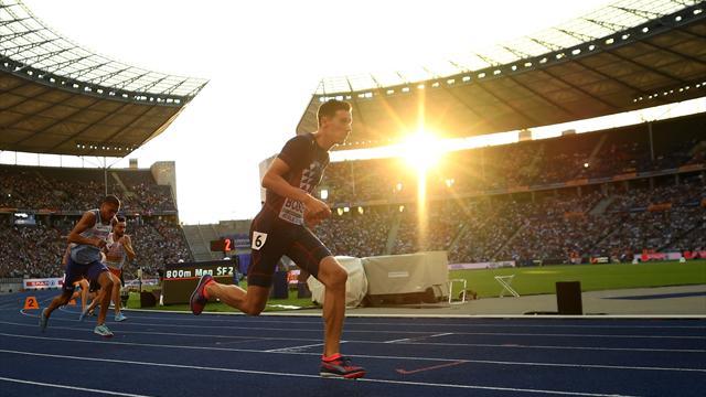 Bosse qualifié pour la finale du 800m — Championnats d'Europe