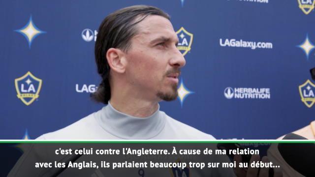"""LA Galaxy - Ibrahimovic : """"Mon plus beau but est contre l'Angleterre"""""""