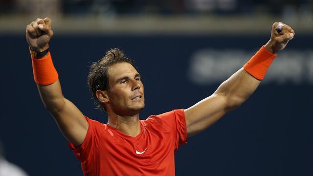 Nadal krizden çıkarak yarı finalde