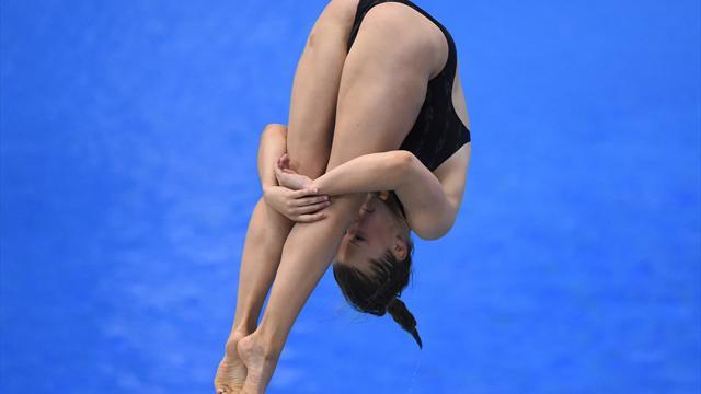 Punzel springt als Sechste ins EM-Finale vom 3-m-Brett