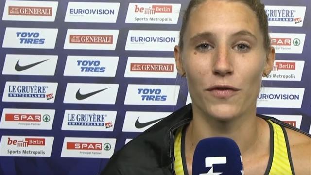"""Siebenkämpferin Schäfer: """"Habe für die beiden Mädels mitgekämpft"""""""