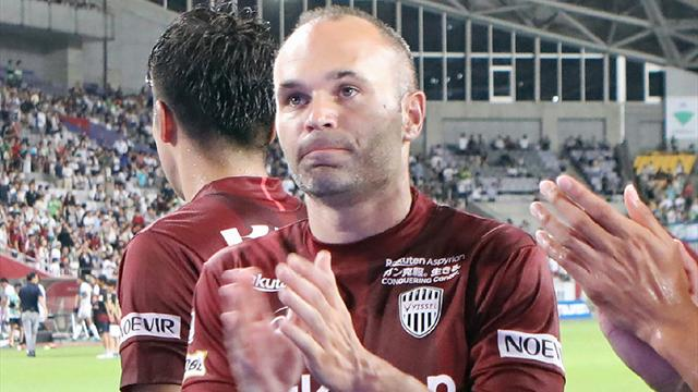 VIDEO: Iniesta scores incredible first goal in Japanese football