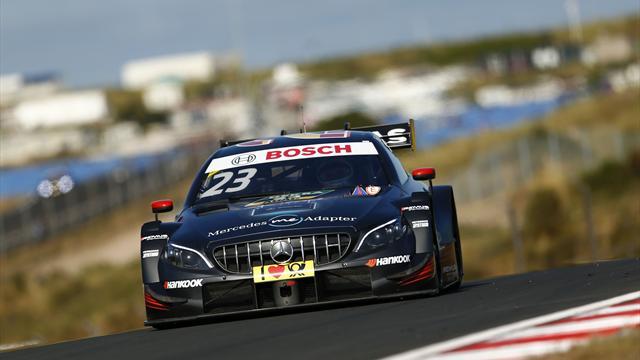 DTM: Mercedes-Pilot Juncadella auf der Pole - Paffett Sechster
