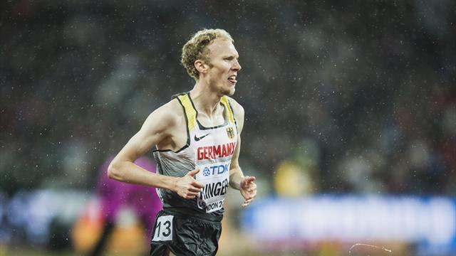 Richard Ringer startet nicht über 5000 m