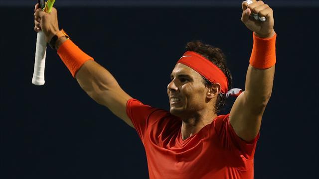 Intraitable, Nadal met fin au rêve de Tsitsipas