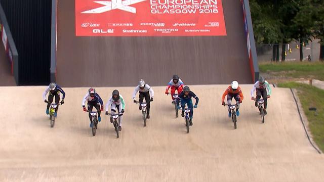 André en bronze derrière les Britanniques Evans et Whyte
