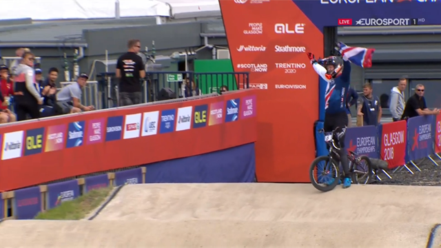 Britain bag gold and silver in men's BMX