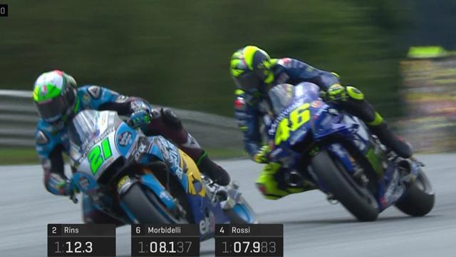 Rossi verpasst Q2: Die letzten Minuten im Q1