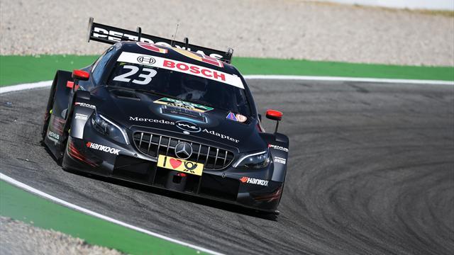 DTM: Juncadella feiert ersten DTM-Sieg - Paffett baut Führung aus