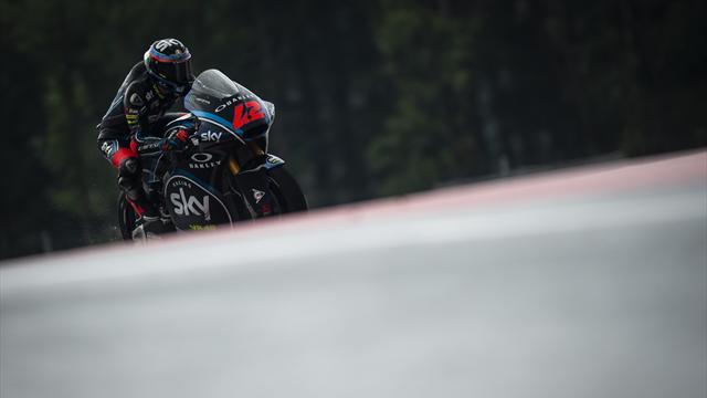 Moto2 : Bagnaia, Oliveira et... Quartararo !
