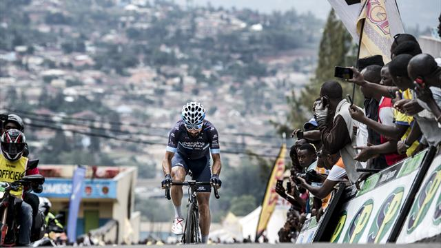 Rwanda: Team Novo Nordisk fights for respect, diabetes education with Lozano's stage win
