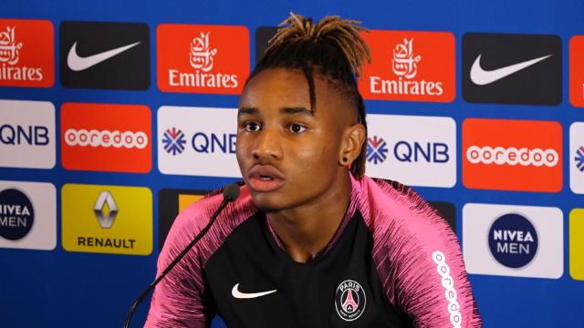 "1e j. - Nkunku : ""Prendre plus ma chance offensivement"""