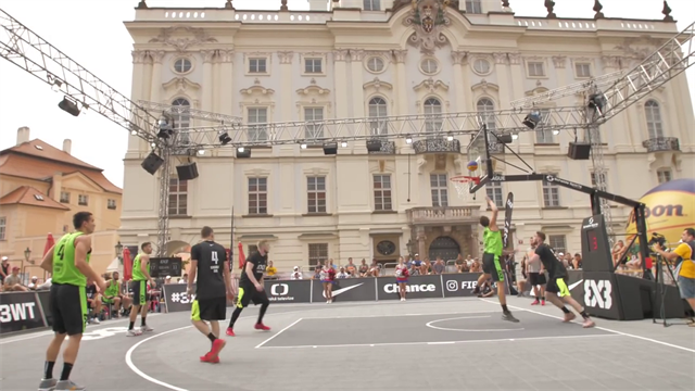 Monster-Blocks, Traumpässe und Slam-Dunks: Die Top 10 vom 3x3-World-Cup