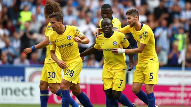 Chelsea est lancé, Kanté aussi