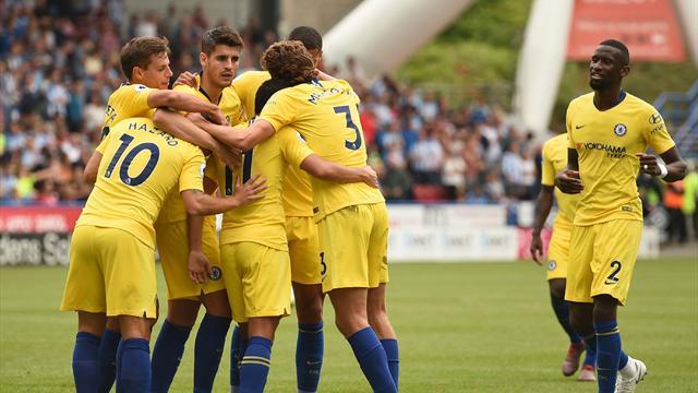 Debutto col botto in Premier per Sarri: il suo Chelsea vola con un 3-0 ad Huddersfield