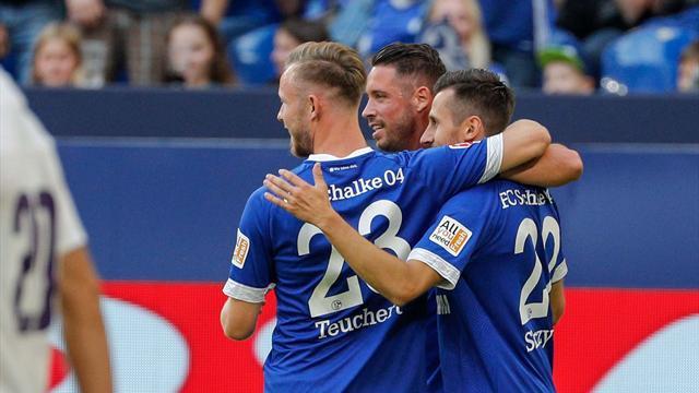Schalke und Wolfsburg überzeugen, Bremen und Gladbach schwach
