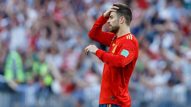 Pique hints at Spain return for Tokyo 2020