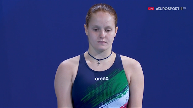 Chiara Pellacani settima nella finale del trampolino 3 metri: rivedi i suoi tuffi