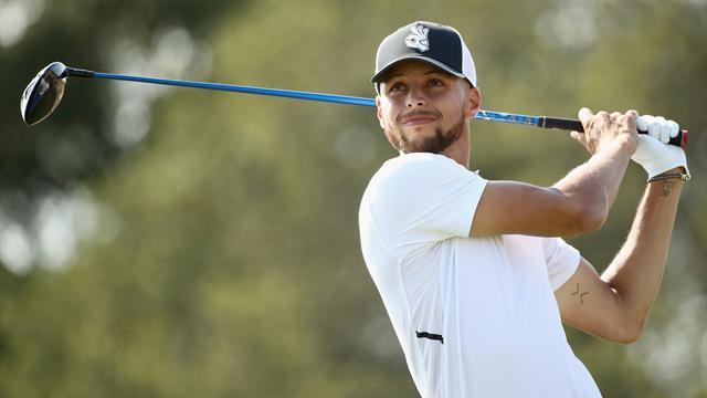 Stephen Curry ci prova col golf ma non è il suo sport: ultimo nel secondo giro, non supera il taglio