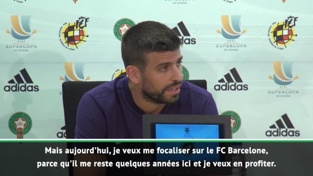 Espagne - Piqué annonce sa retraite internationale