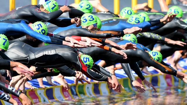 European Championships: Gemischte Triathlon-Staffel auf Platz sechs