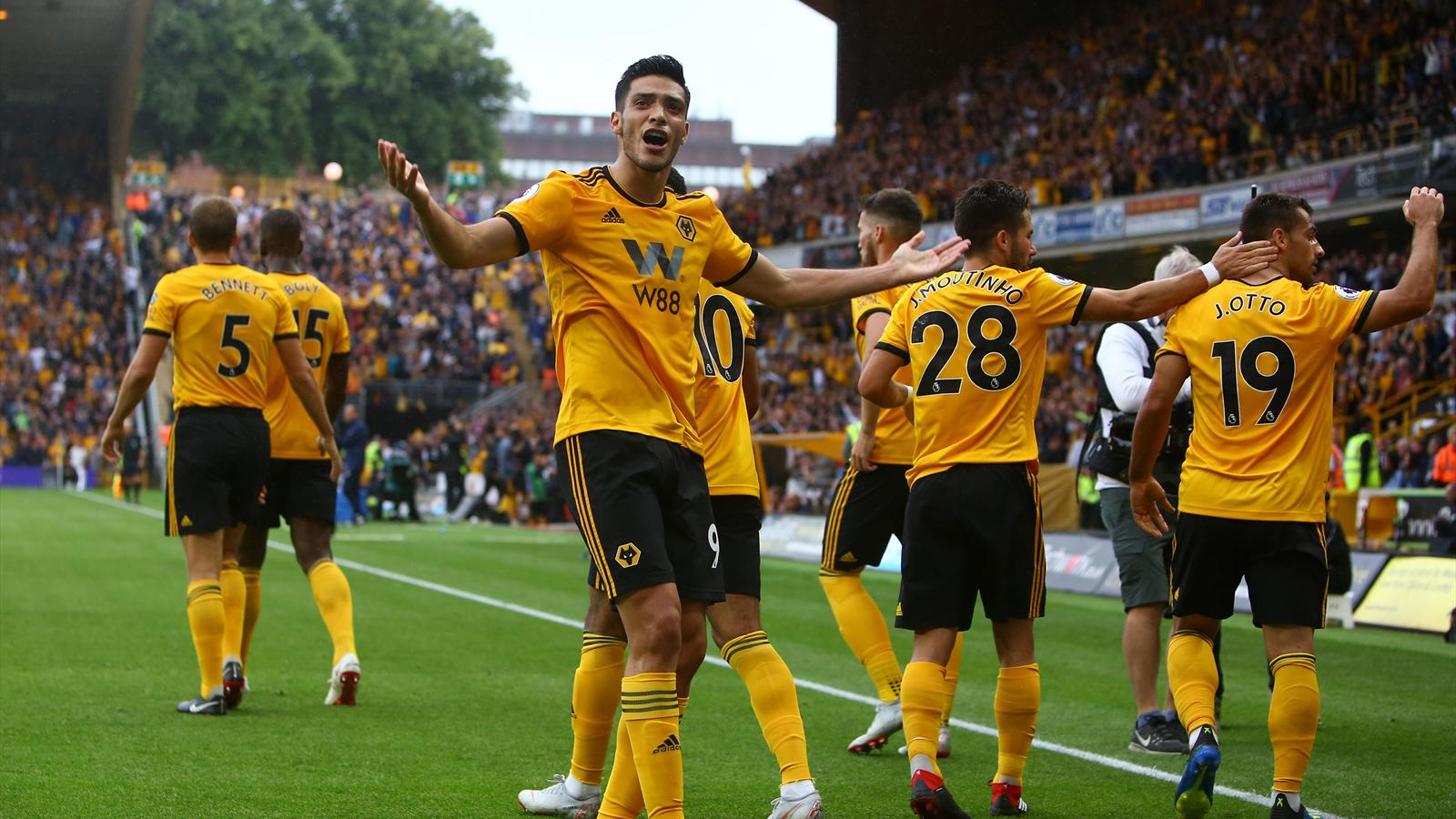 Wolves snatch draw from 10-man Everton - Premier League ...