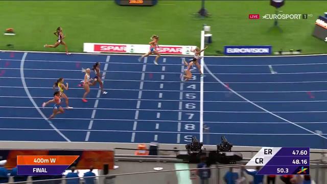 Che rimonta per Justyna Swiety! La polacca vince l'oro nei 400, riguarda il suo finale