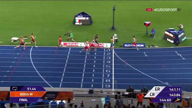 EM-silver för Andreas Kramer på 800 meter