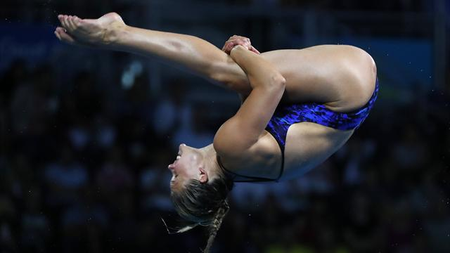 Reid and Blagg wrap up GB one-two in 3m springboard