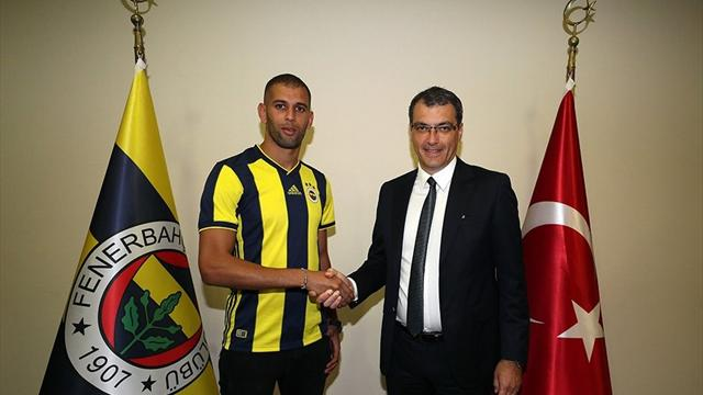 İslam Slimani, Fenerbahçe'de