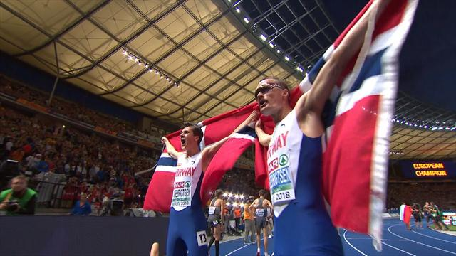 17-year-old Ingebrigtsen clinches double gold with 5000m win