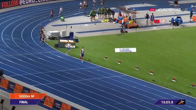 Crippa, che peccato! L'azzurro sfiora il podio nei 5000, riguarda il suo gran finale