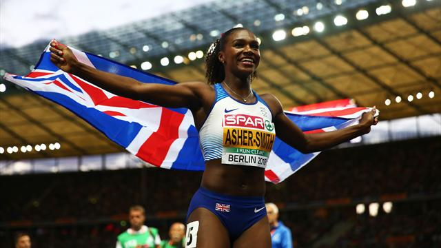 Imperious Asher-Smith seals golden double with 200m triumph