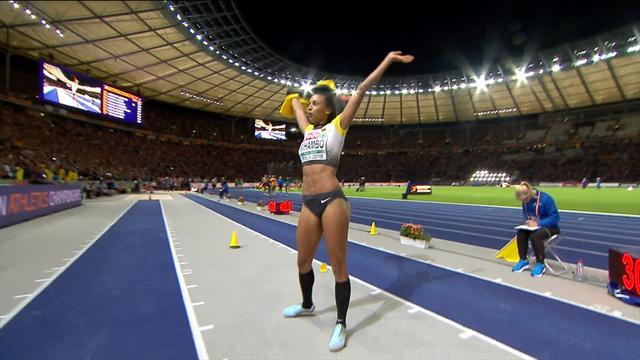 Mihambo leaps to long jump title